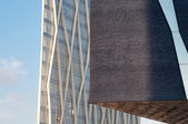 Twee moderne gebouwen — Stockfoto