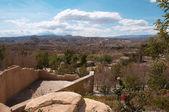 Desert landscape in Andalusia, Spain — Stock fotografie