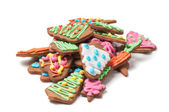 Shot of gingerbreads — Stock Photo