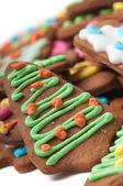 Closeup shot of gingerbread — Stock Photo