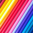 Multicolored pencils laid out by colors — Stock Photo #43093853