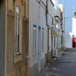 Street of Fuseta village, Portugal — Stock Photo