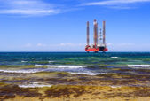 Drilling platform — Stock Photo