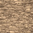 Texture of masonry in old style — Stock Photo