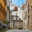 Ancient Street in Vienna — Foto Stock