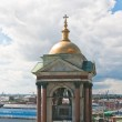 Detail of St. Isaac's Cathedral. View from the lookout. St. Pete — Stock Photo #11502108