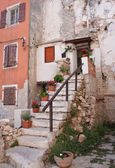 Old house in Town Fazhana. Croatia. Europe — Stock Photo