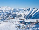Estación de esquí de kaprun, glaciar kitzsteinhorn. Austria — Foto de Stock