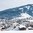 Ski resort Kaprun - Maiskogel. Austria - Stock Photo