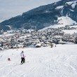 Ski resort Kaprun - Maiskogel. Austria — Stock Photo