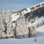 Ski resort Zell am See. Austria — Stock Photo #13151418