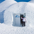 Igloo in the mountains, — Stock Photo #13308104