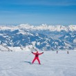 Ski resort of Kaprun, Kitzsteinhorn glacier. Austria — Stock Photo #13319096