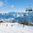 Ski resort Zell am See. Austria — Stock Photo