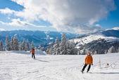 Ski resort zell ben zien — Stockfoto