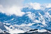 Vou ver zell do resort de esqui. áustria — Foto Stock