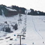 Ski resort Kaprun - Maiskogel. Austria — Stock Photo #13613717