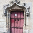 Stock Photo: Entrance to National Museum of Middle Ages - Cluny therm