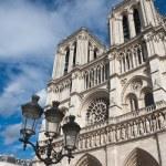 Notre Dame de Paris. France. Paris — Stock Photo