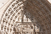 Paris. Fragment of Notre Dame — Stock Photo