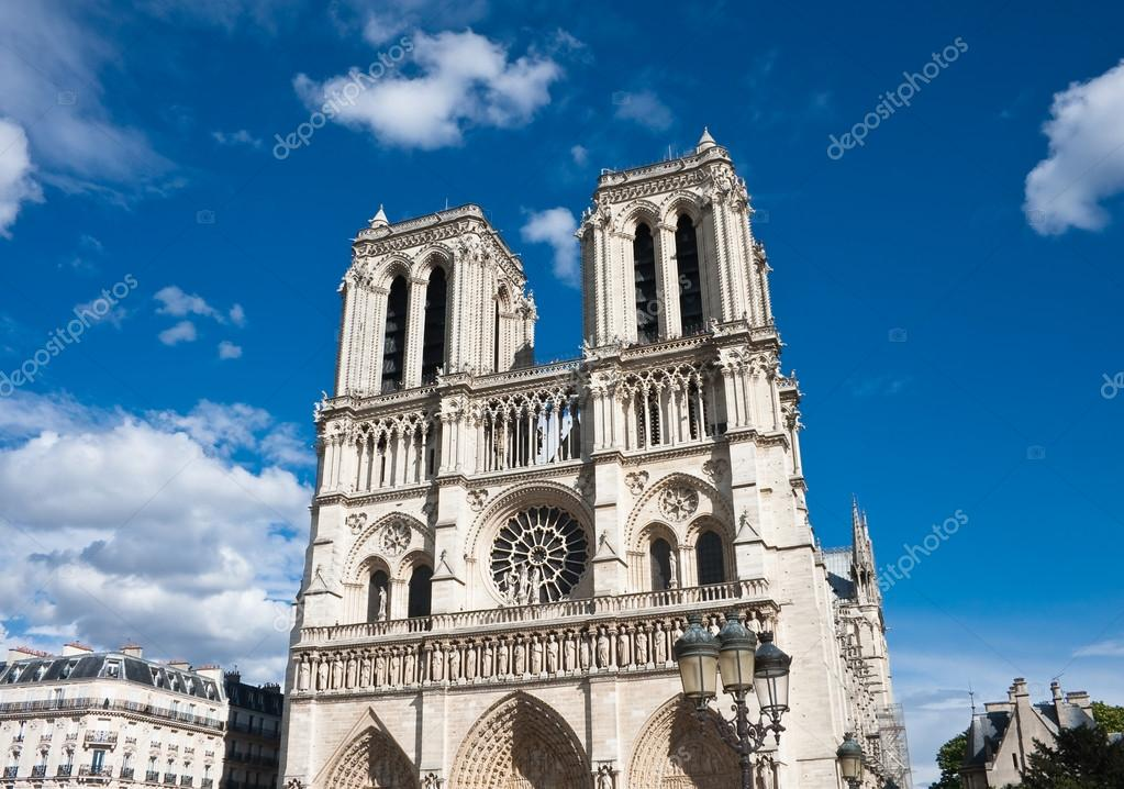 Notre Dame de Paris. France. Paris  Stock Photo #13889091