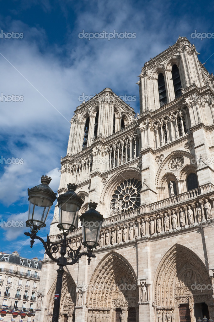 Notre Dame de Paris. France. Paris — Stock Photo #13889114