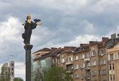 Monument of St. Sophia in Sofia. Bulgaria — Zdjęcie stockowe