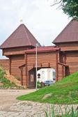 Kremlin de dmitrov nikolsky gates. dmitrov, região de moscou, rússia — Foto Stock
