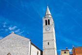 Iglesia de los santos cosme y damian. ciudad fazana. croacia — Foto de Stock