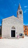 Cosmas ve damian kilisesi. şehir fazana. croatia.l — Stok fotoğraf