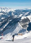 Ski resort of Kaprun, Kitzsteinhorn glacier. Austria — Stock Photo