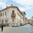 Street in the center of Pula, CroatiaCroatia, Pula - Stock Photo