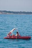 Watersporten te beoefenen. kroatië — Stockfoto