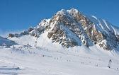 Горнолыжный курорт Капрун, ледник Кицштайнхорн. Австрия — Стоковое фото
