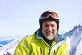 Station de ski de kaprun, glacier de kitzsteinhorn. autriche — Photo