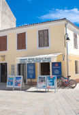 Pizzeria in the town of Fazana, Croatia — Foto Stock