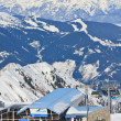 Ski resort of Kaprun, Kitzsteinhorn glacier. Austria — Stock Photo #32200827