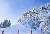 Stazione sciistica di kaprun, ghiacciaio kitzsteinhorn. austria — Foto Stock