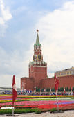 Flower Festival in Red Square. Moscowf — Stock Photo