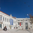 Area Largo Trindade Coelho,. Museum of St. Roque. Lisbon, Portug — Stock Photo