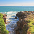 Stock Photo: Cascais, rocks. Atlantic Ocean. Portugal
