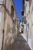 Street in the city of Granada, Spain — Stock Photo
