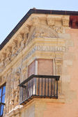 Detail of a building on a city street in Granada, Spain — Stock Photo