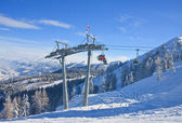 Ski resort Schladming . Austria — Foto de Stock