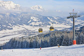 Ski resort Schladming . Austria — Stockfoto