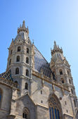 St. Stephen's Cathedral in Vienna, Austria — Stock Photo
