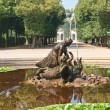 Fountain in the park of Schonbrunn Palace. Vienna, Austria — Stock Photo