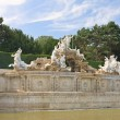 "Stock Photo: Fountain ""Neptune"" in Schonbrunn. Vienna, Austria"
