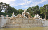 "Fountain ""Neptune"" in Schonbrunn. Vienna, Austria — Stock Photo"