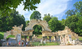 Roman ruins (Ruins of Carthage). Schonbrunn. Vienna, Austria — Stock Photo